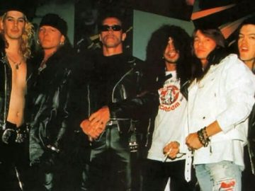Arnold Schwarzenegger and GNR