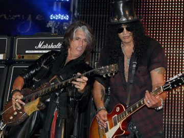 Joe Perry With Slash