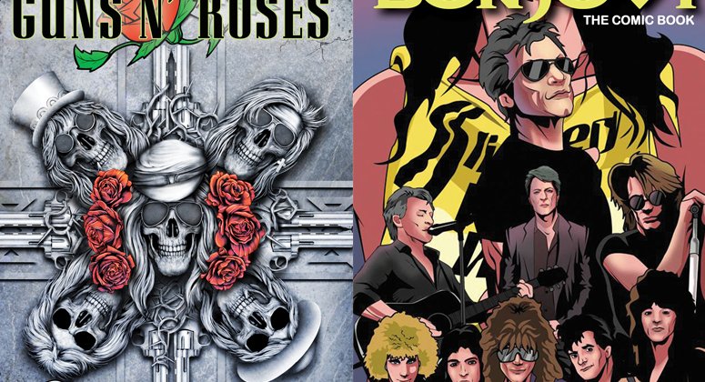 GNR and Bon Jovi Comics