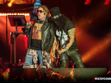 Axl Rose and Slash Mother of All Festivals