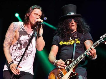Myles Kennedy With Slash