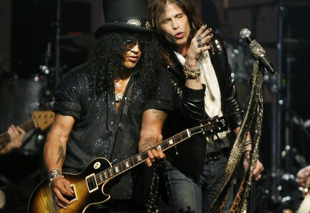 Slash Steven Tyler