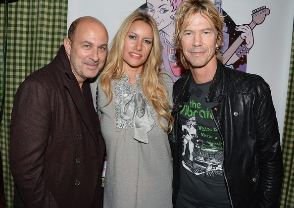 Duff, Susan and John Varvatos