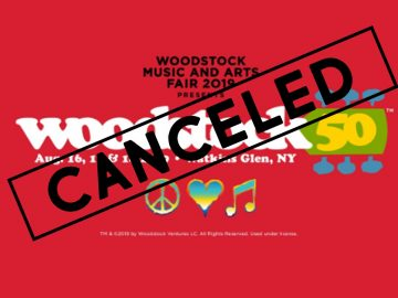 Woodstock 50 Cancelled?