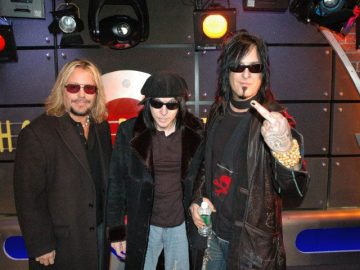 Motley Crue on Howard Stern Show