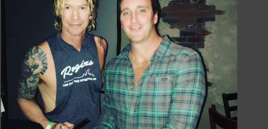 Jay Mohr and Duff McKagan