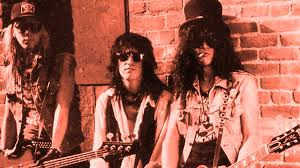 Duff, Izzy and Slash