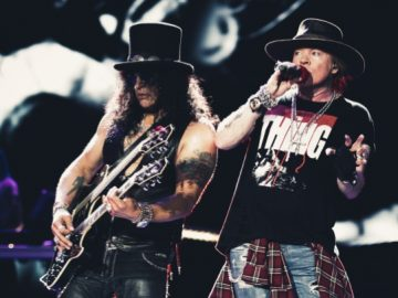 Slash and Axl 2016