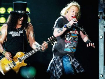 Axl and Slash Download Festival 2018