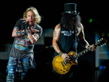 Slash Axl Rose