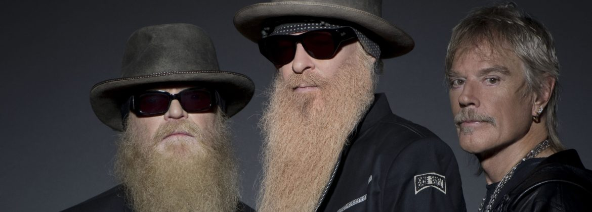 ZZ Top - Dusty Hill, Frank Beard and Billy Gibbons