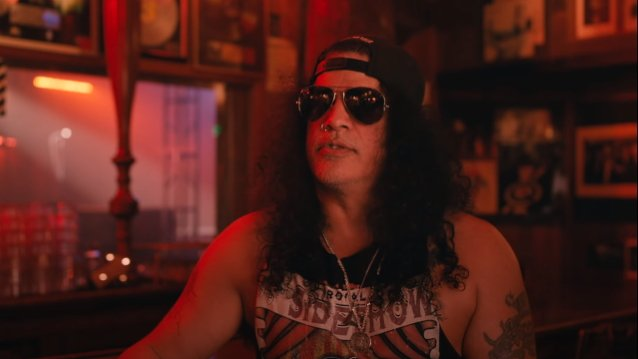 Slash at the Troubadour Talking Reunion